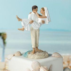Beach themed cake topper